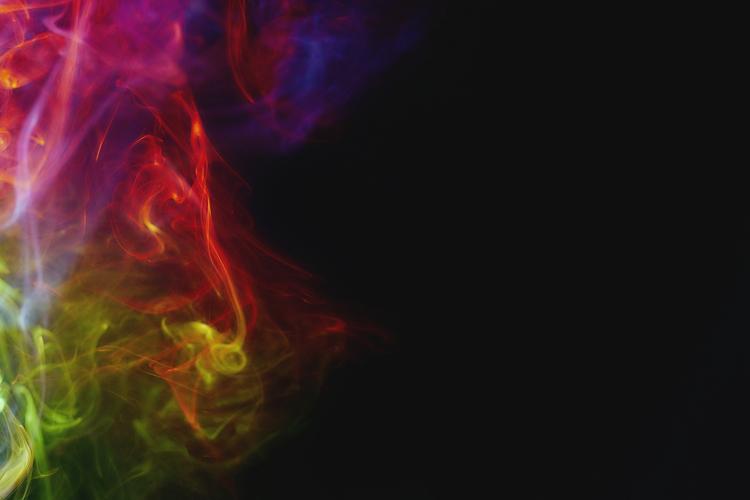 Smoke Nebula. photograph incens - dglarson | ello