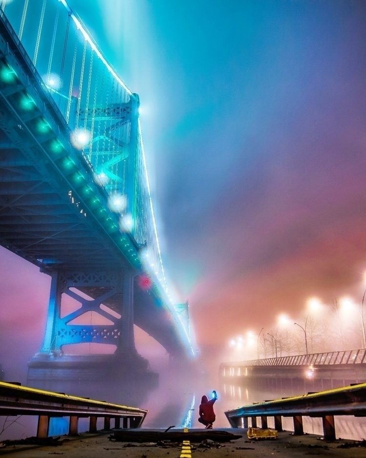 Foggy nights Philly - philadelphia - photobymark | ello