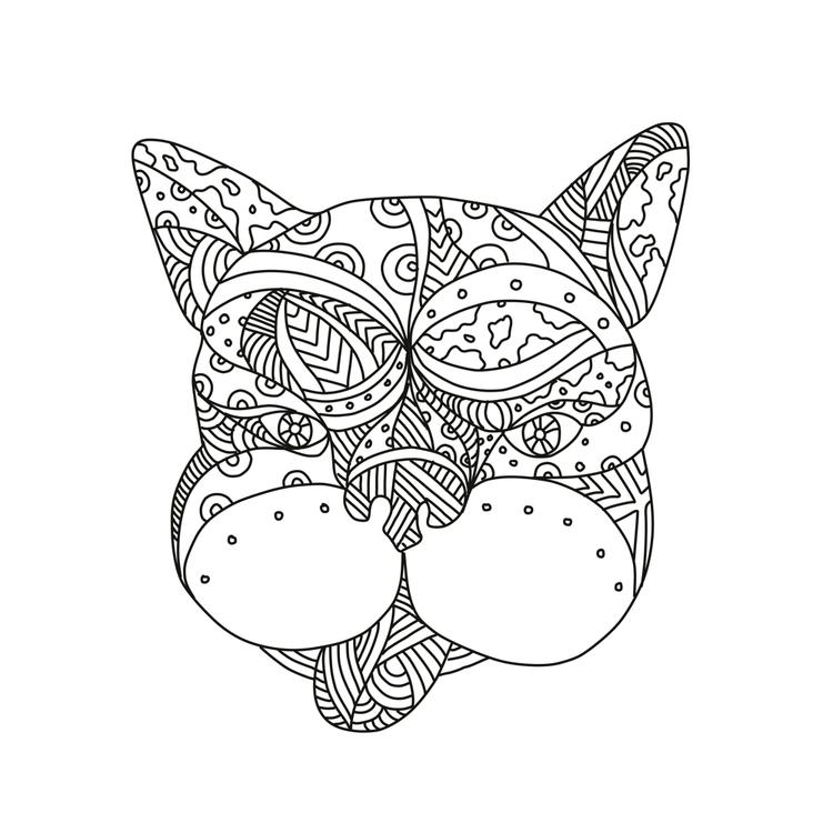 French Bulldog Doodle Art - frenchbulldog - patrimonio | ello