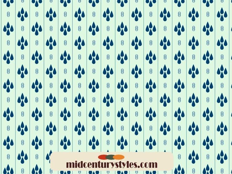 midcentury, surfacepattern, midcenturyinspiration - mtaperell   ello