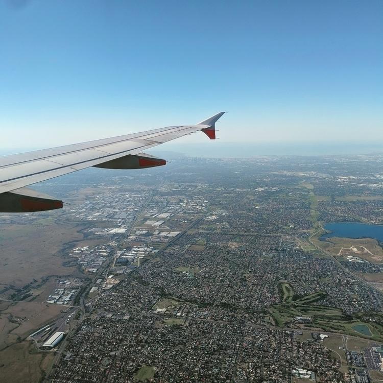 Flying Melbourne - airplane, plane - brookdtd | ello