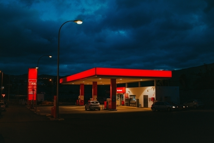 show love gas stations follow S - carameluh | ello