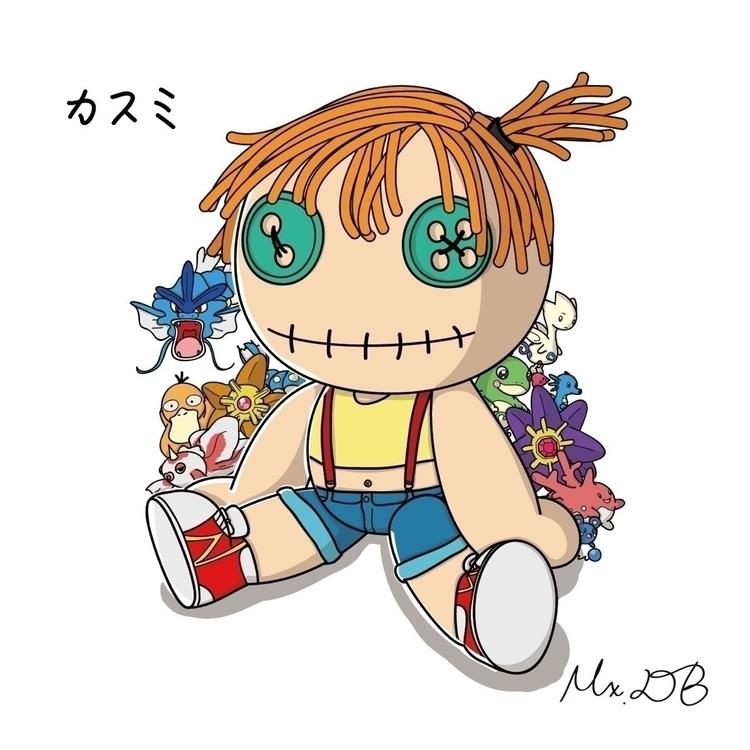 Misty (Pokémon, 1997 - 醜娃娃愛變裝, mxdbsclumsydoll - mxdbsclumsydoll | ello