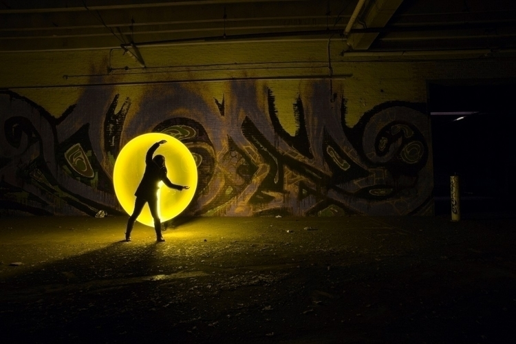 ello post account - lightpaint, longexposure - zo_after_dark | ello