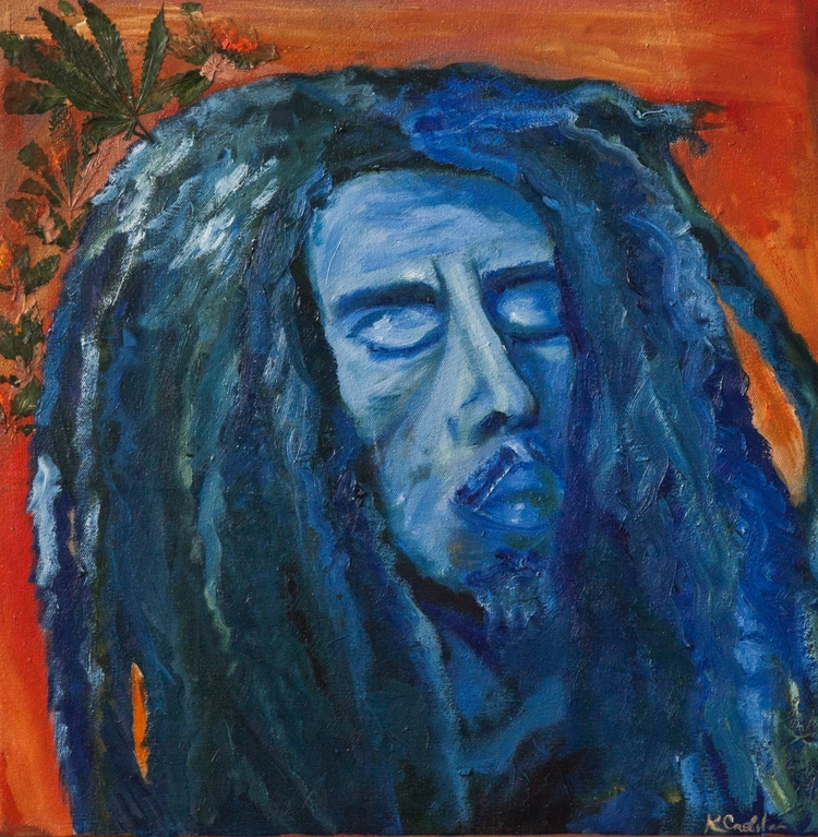 Bob Marley - Genuine Cannabis - misskriskillz | ello