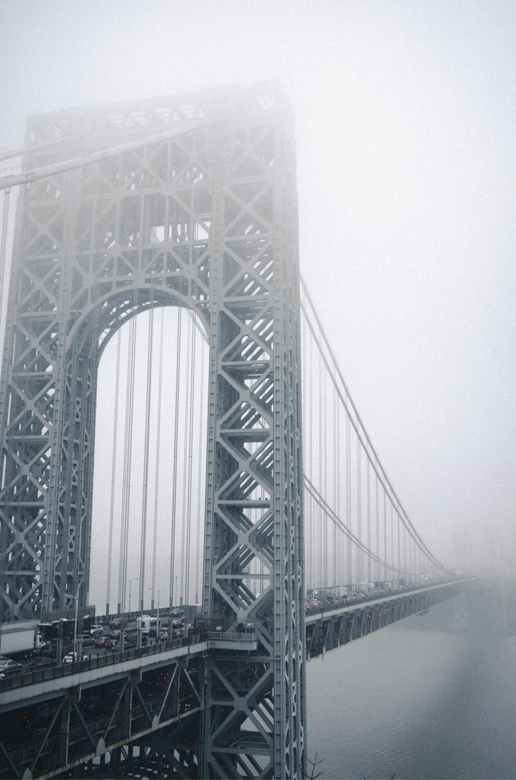 George Washington Bridge - gwb, nyc - alexanderxdangelo | ello