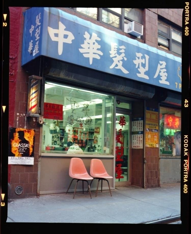 seats  - film, nyc, portra400, street - lorenzomitil | ello
