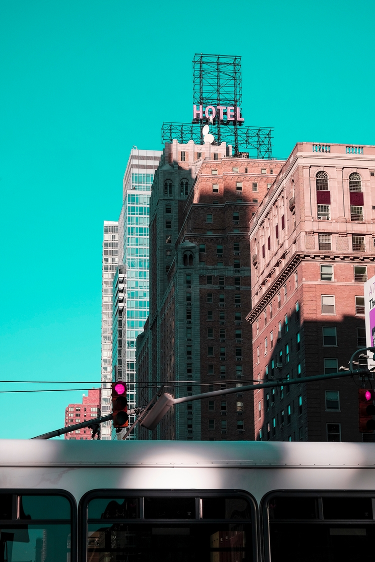Surreal skies world. NYC, 42nd  - ofelipeschuler | ello