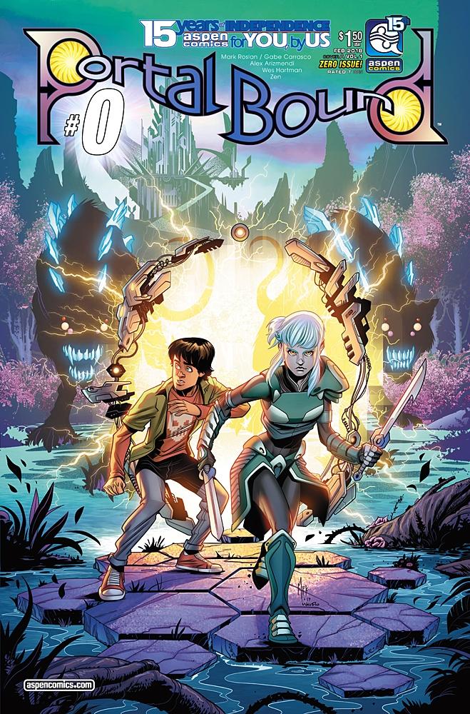 Aspen Comics Debuts Series 2018 - comicbuzz | ello