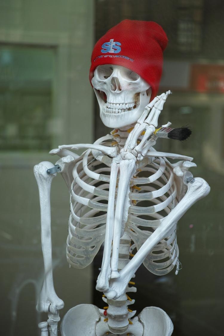 Skeleton painter, Glasgow, Scot - yannick_glasgow | ello