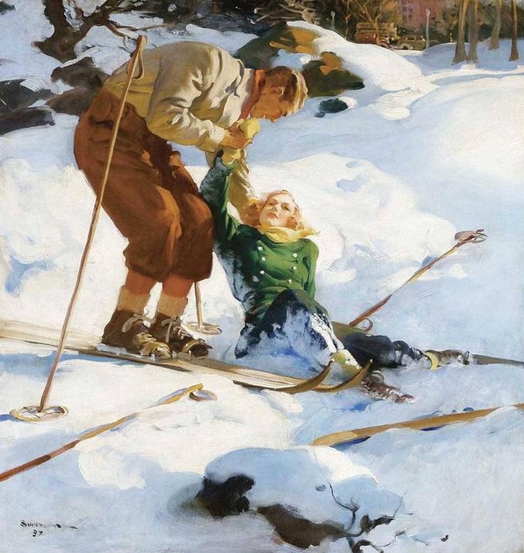 Ski pulp. 1937 - arthurboehm   ello