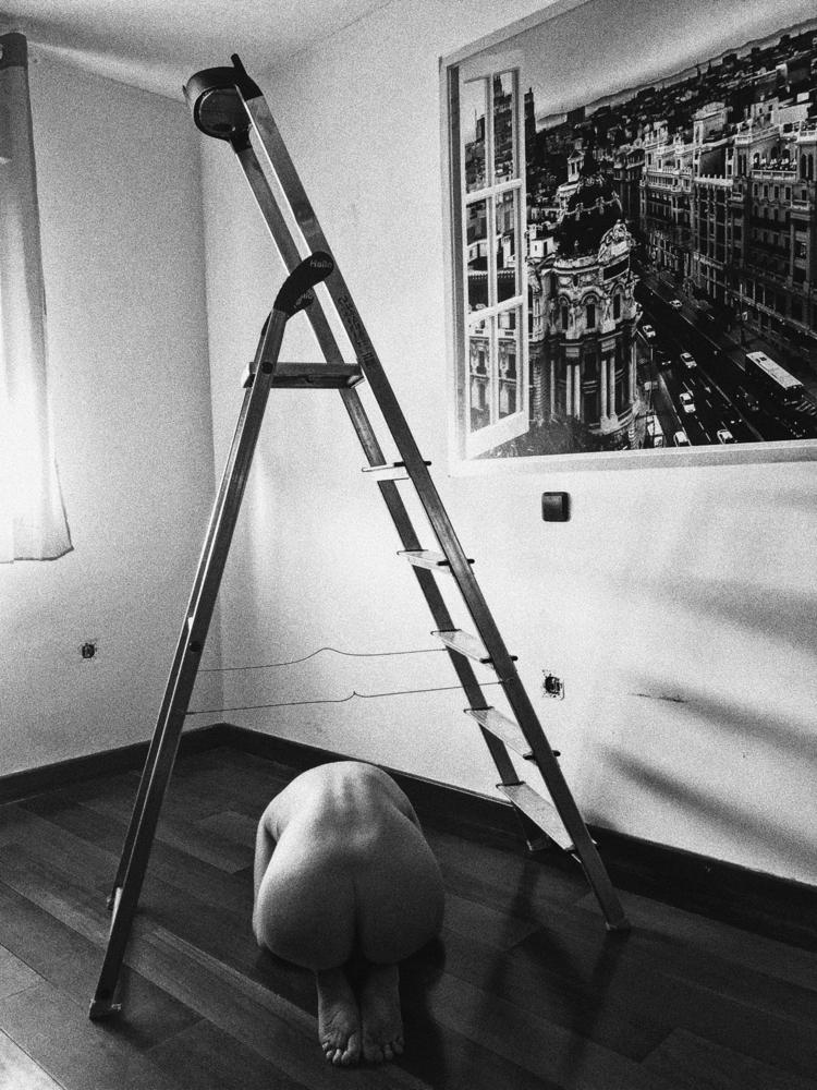 backbone staircase - art, photography - mireiastones | ello