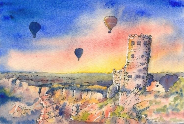 Wonderful mail art Sheila Wrigh - papiergedanken-collage-art | ello