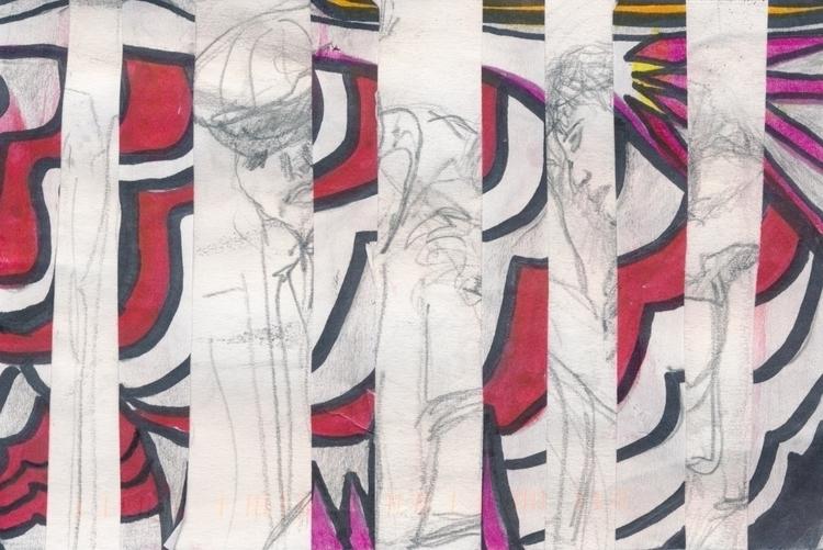 Mail art Artist Call Judith Sko - papiergedanken-collage-art | ello