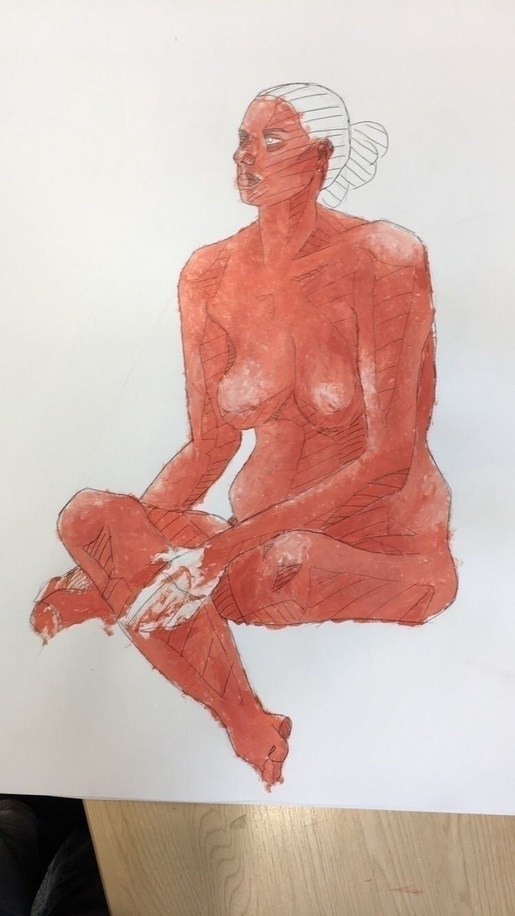 final pieces Life Drawing proje - evelynbec | ello