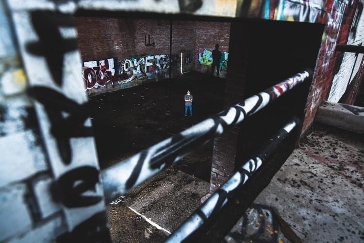 Man Wall - abandoned, texas, ftworth - tylerfarris   ello