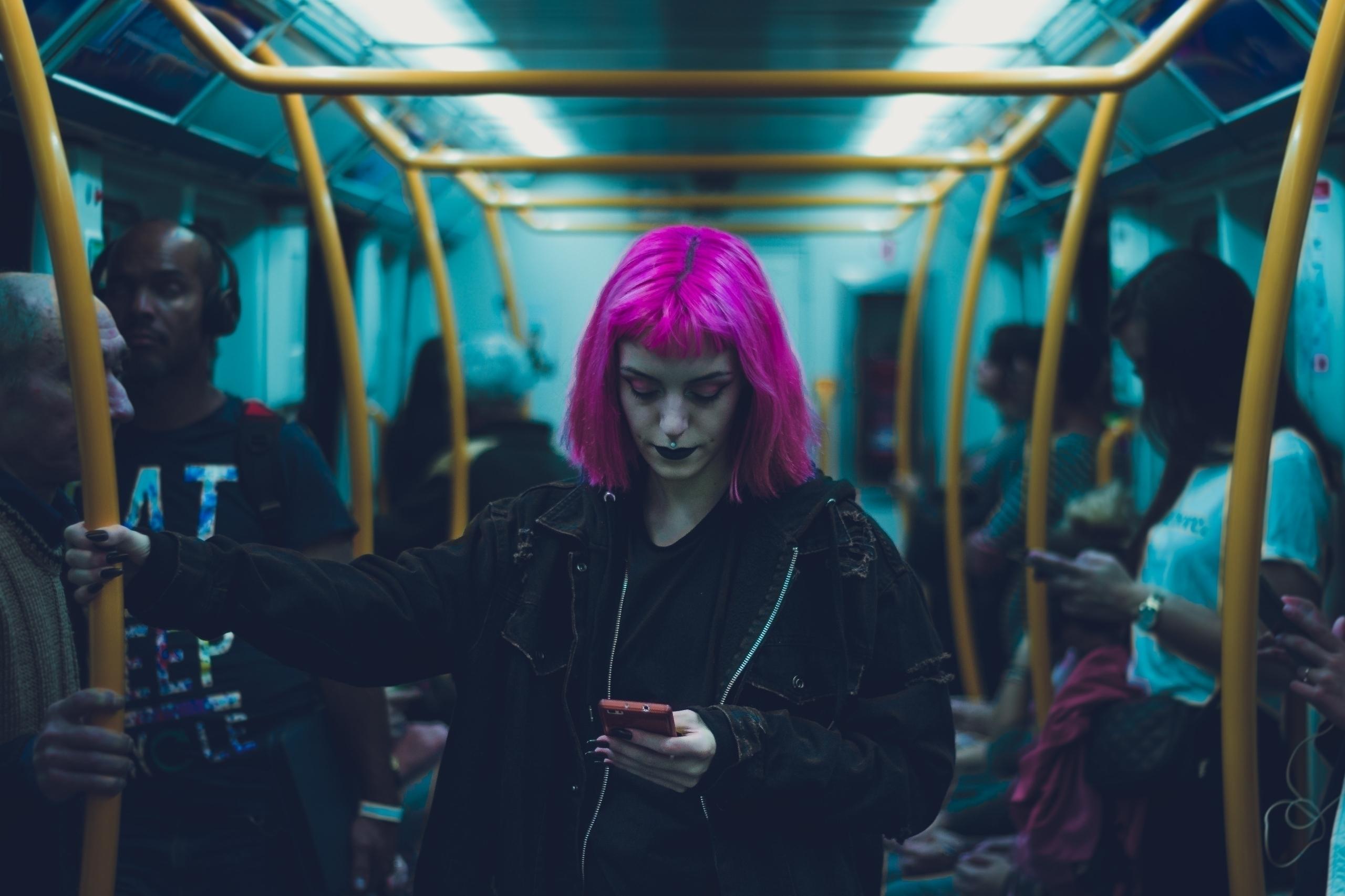 subway situation - photography, portrait - darumatuertophoto | ello