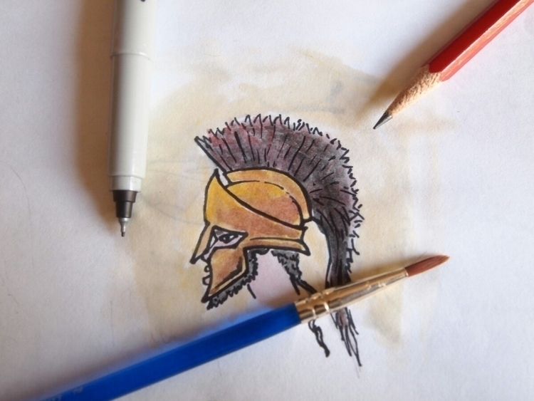 watercolor ink - art, mywork - bloodrust88 | ello