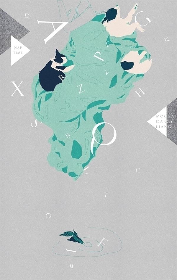Naptime, 2013 Adobe Illustrator - caiyingfang | ello