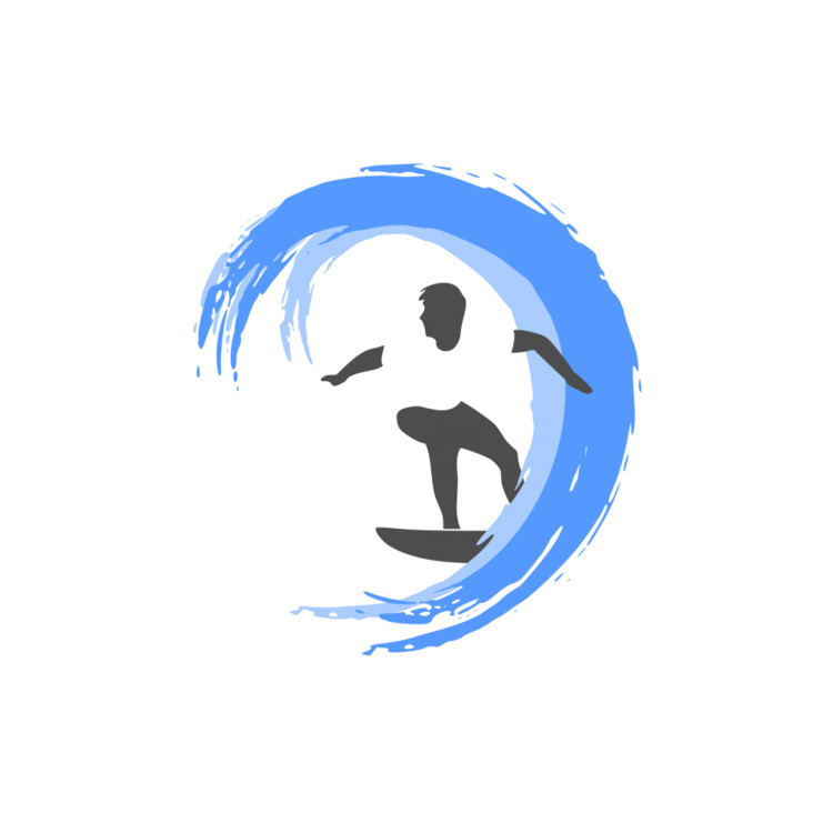 Surfing Logo Design , sea, surf - logoobject | ello