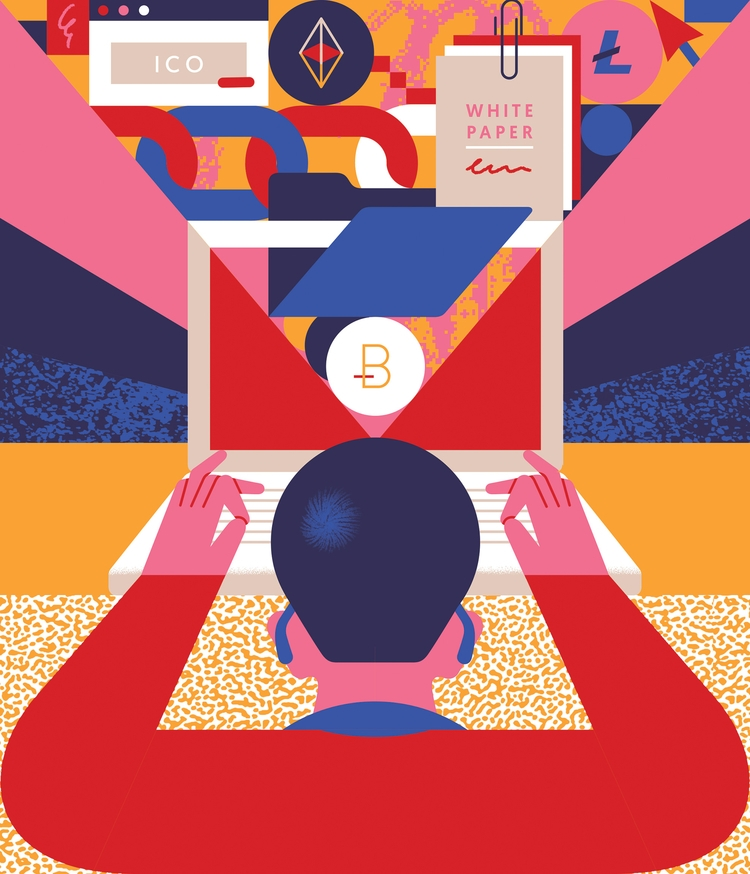 Cryptocurrencies - illustration - alconic | ello