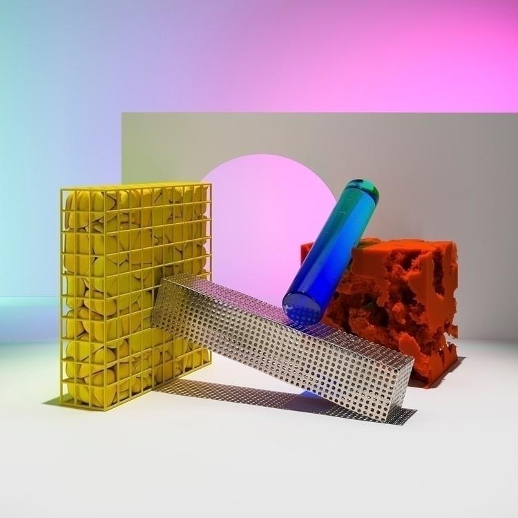 Materials Colours vol.2  - artofvisuals - danielmedina3d | ello