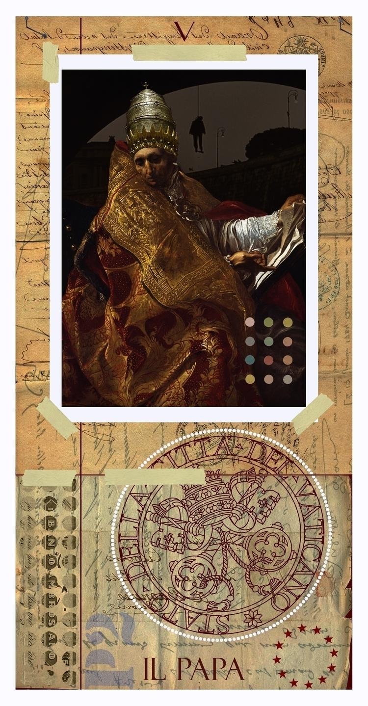 Pope / Hierophant - Tarot card  - astroturf | ello