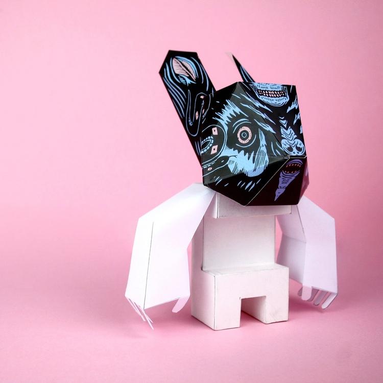 work Rabbit series - proyectoensamble | ello