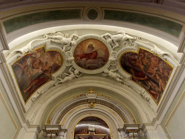 Milan (Italy): Ceiling Chapel c - milanofotografo | ello
