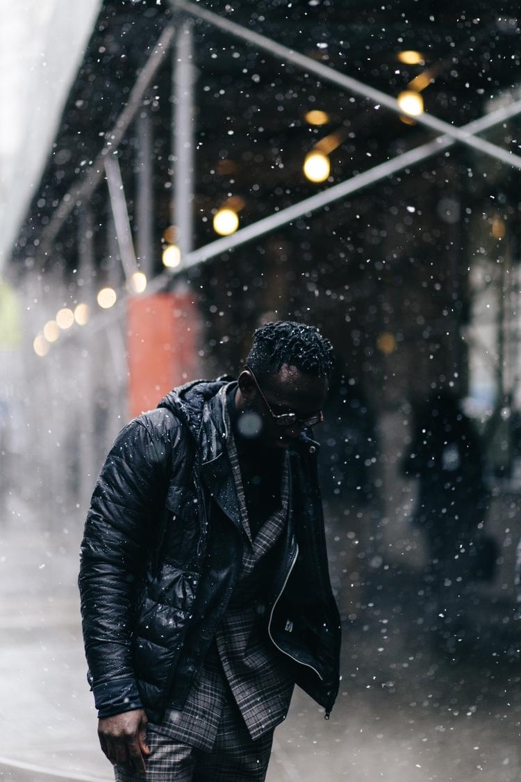 meeting rain, leave blizzard - NYC - eddiepearson | ello