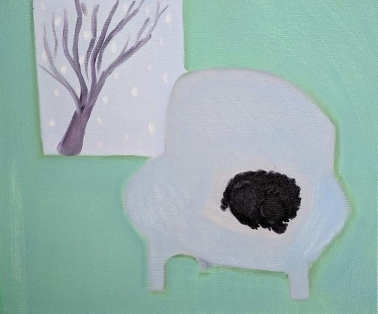 Good Life oil/canvas/board, 18x - markbarry   ello