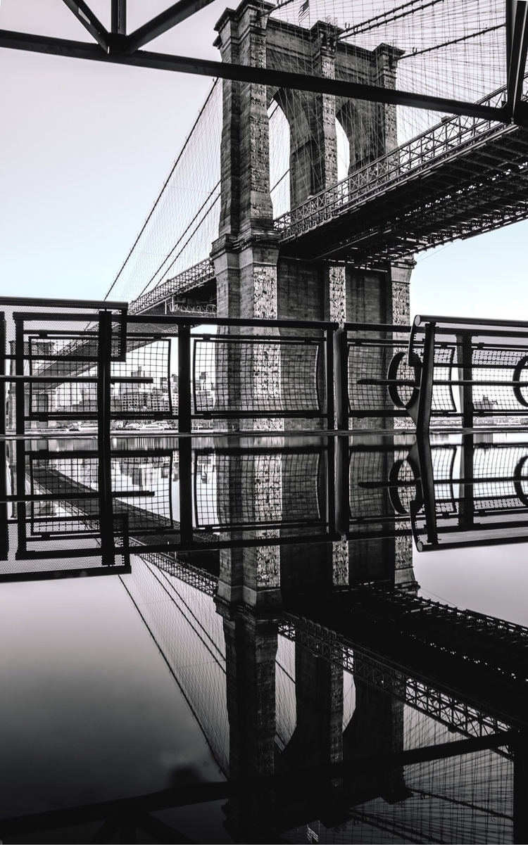 Brooklyn reflect - NewYork, BrooklynBridge - i_ampatrick | ello