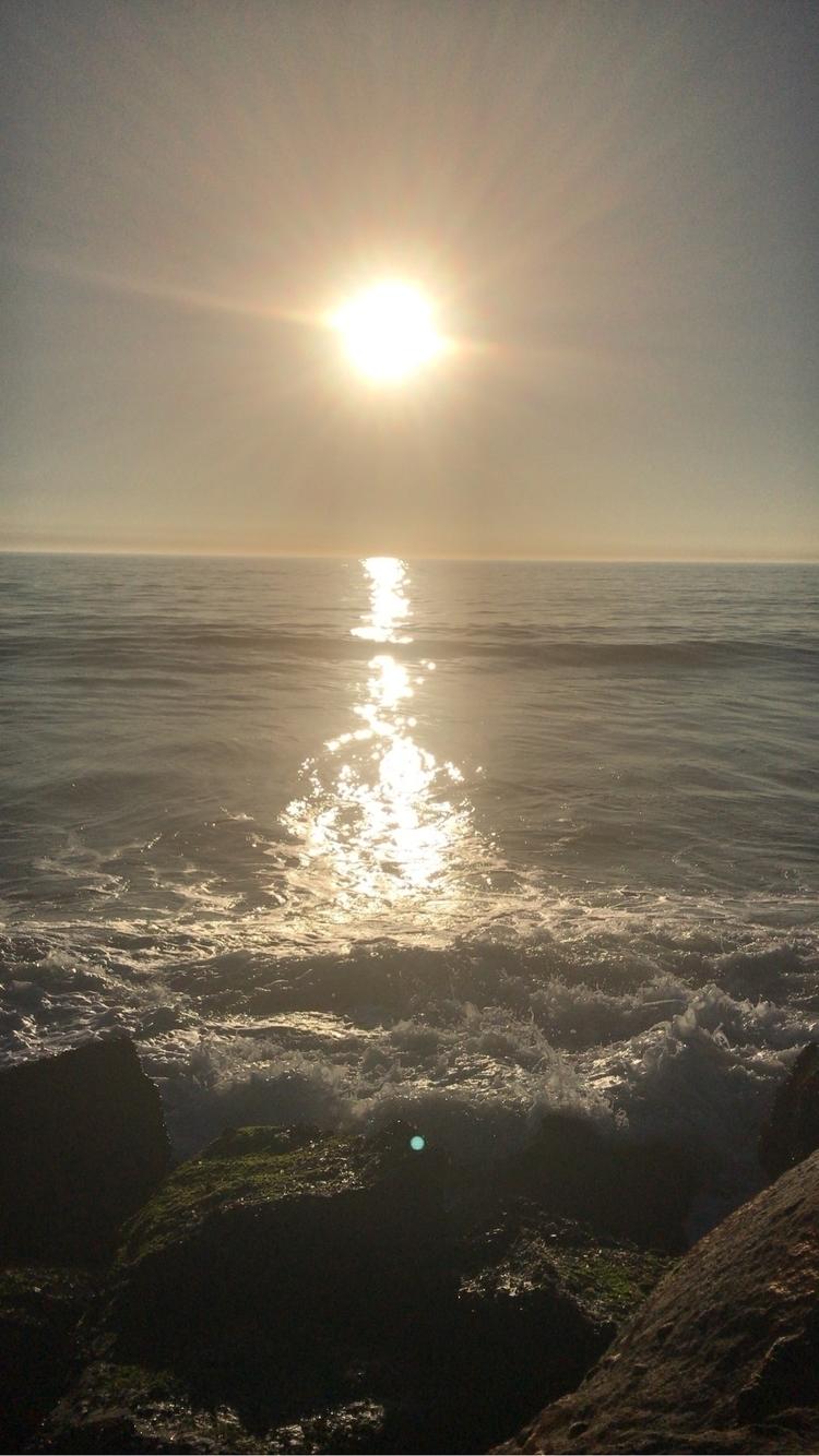 La vie est belle - ello, beach, sunset - sennari   ello