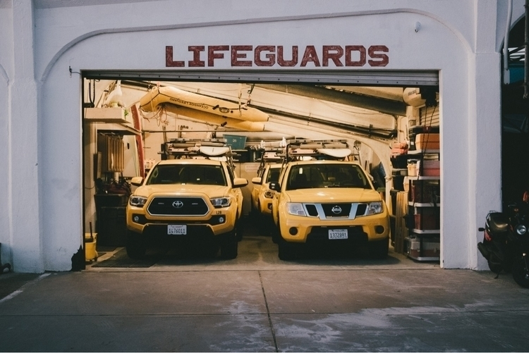 lifeguards, photography, california - alexlamb | ello