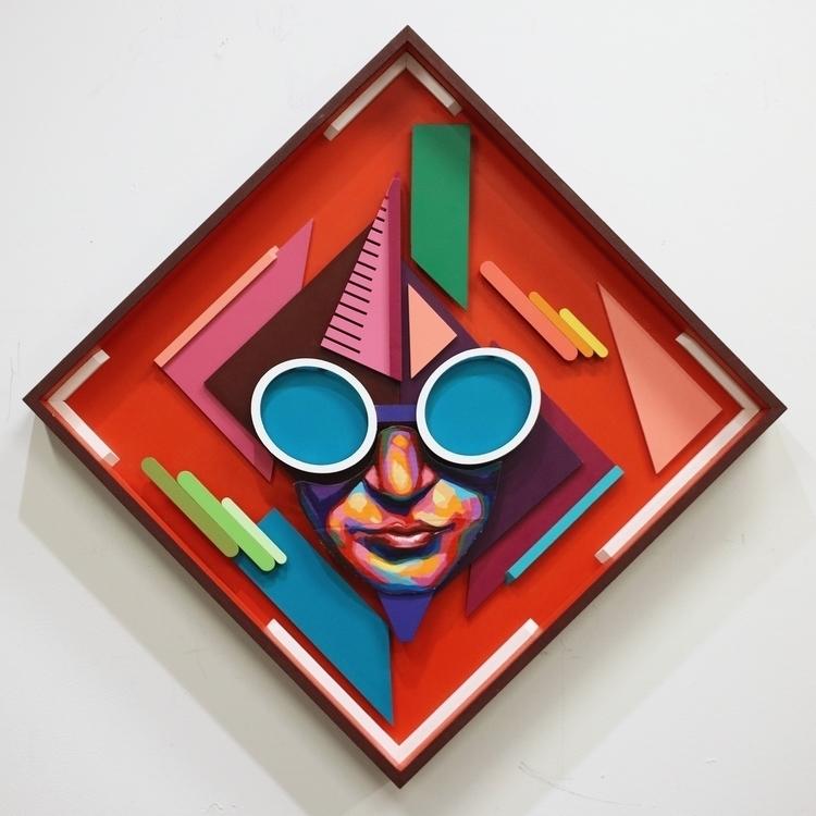 Funky Medium: Acrylic latex car - iamdetour   ello