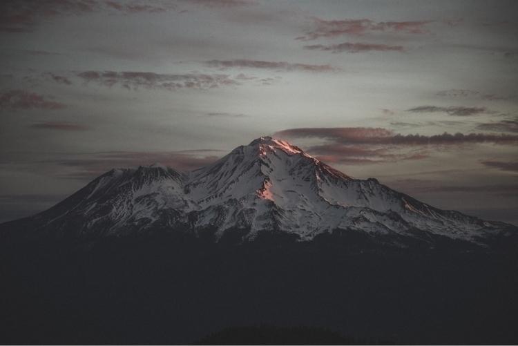 Light Mt. Shasta. . Submitted D - rusticatlas | ello