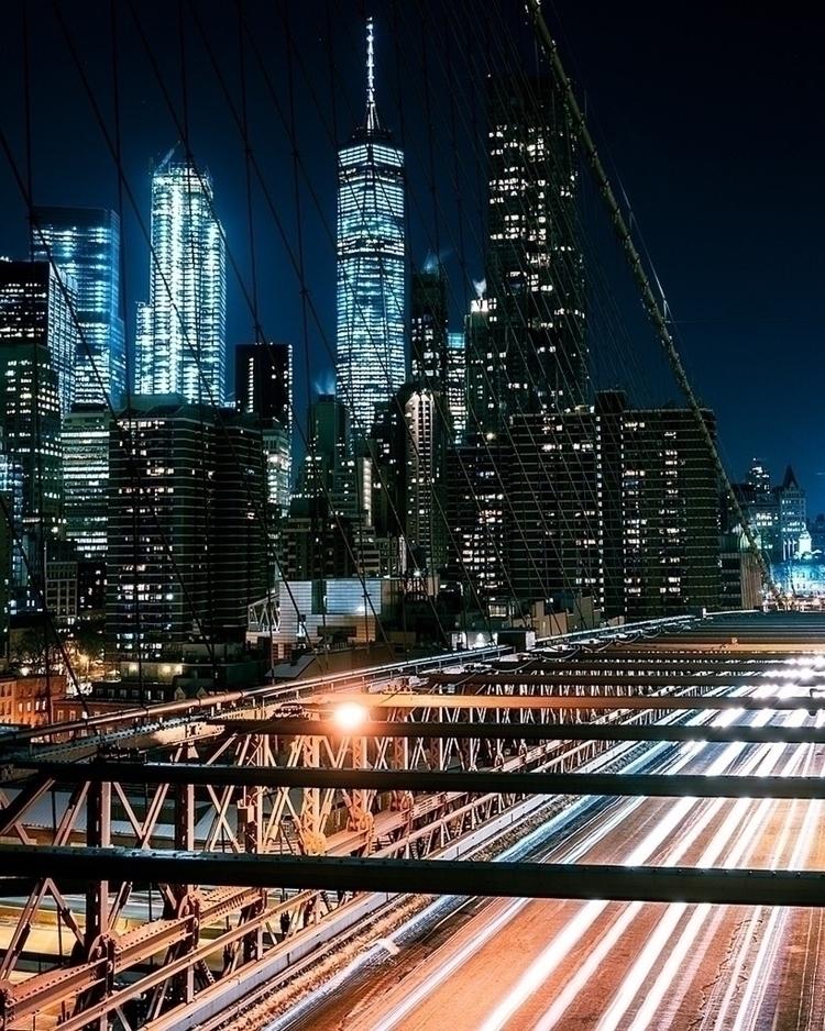 City lights - nyc, freedomtower - jn_pnz | ello