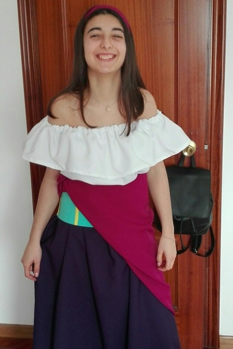 Esmeralda costume. Handmade (li - susanacao | ello