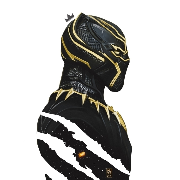 Black Panther King Muze digital - kingmuze | ello