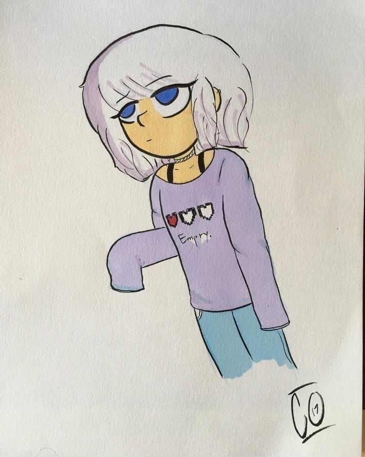 Drawing - cartoons - drawlos316 | ello