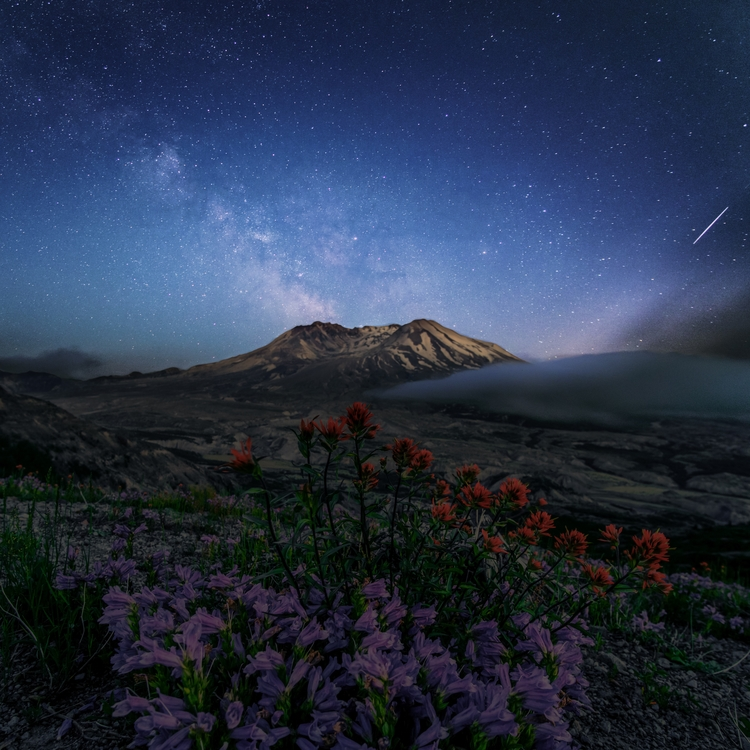 Mount St. Helens, WA, USA Blend - twilliamsphotography | ello