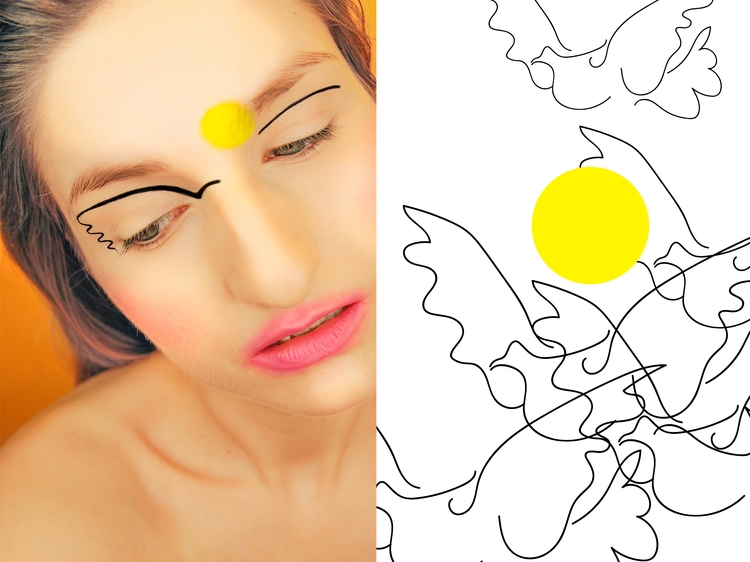 inspired painting - Dove Sun Pa - s_u_   ello