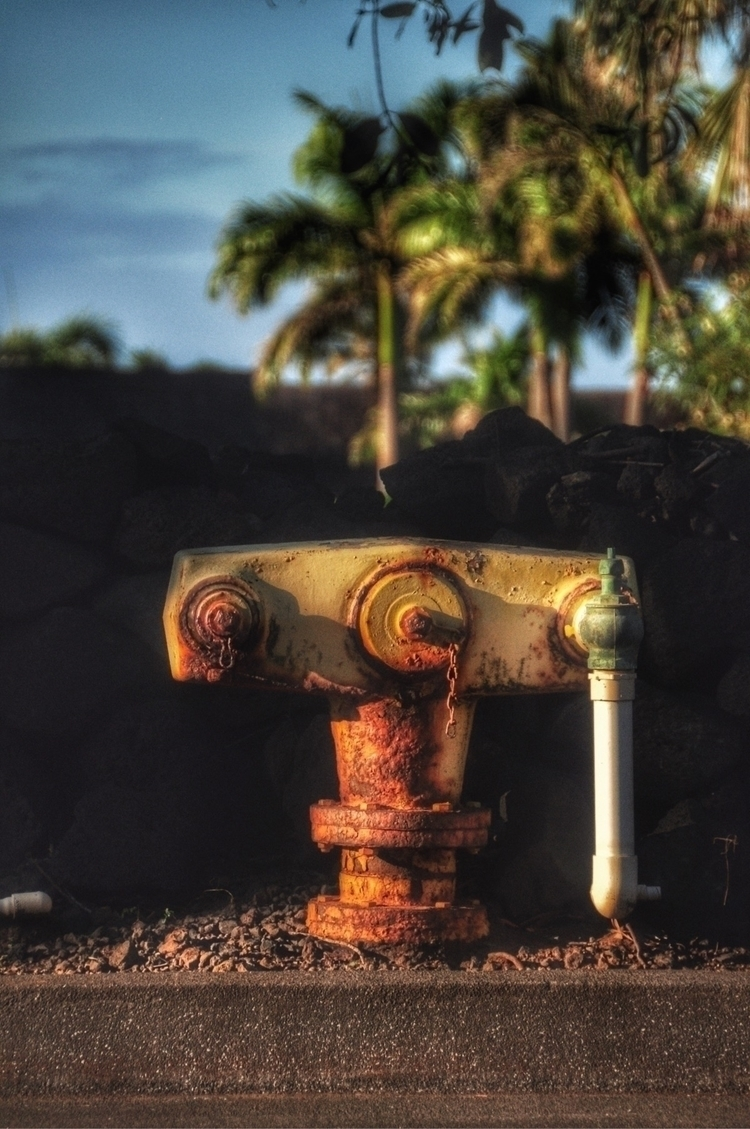 "Hydrants, USA, big guy"", Hawaii - madap 
