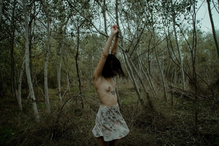 photography, women, nature, portrait - tragedyfilms | ello