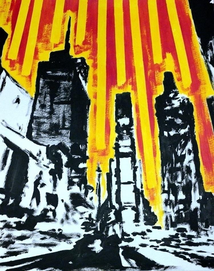 York Painting 2017 Emmanuel Bra - art-brasseur   ello