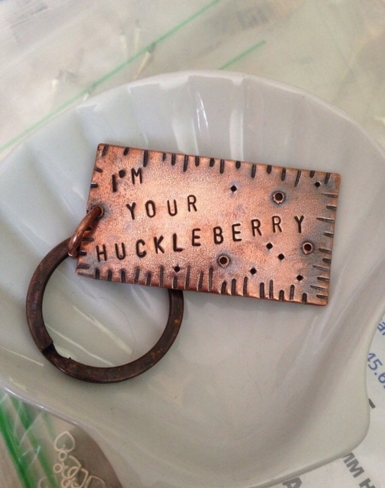 "Huckleberry"" keychain Etsy - etsy - lollypopsparade | ello"