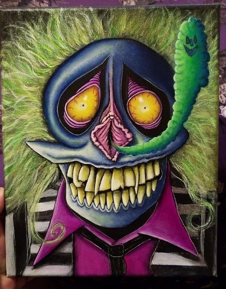 beetlepuss queefing ghosts.  - beetlejuice - imaginarium_delirium333 | ello