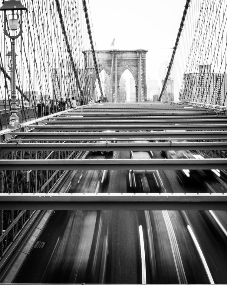NewYork, NYC, Brooklyn, BK, Blackandwhite - janus_md | ello