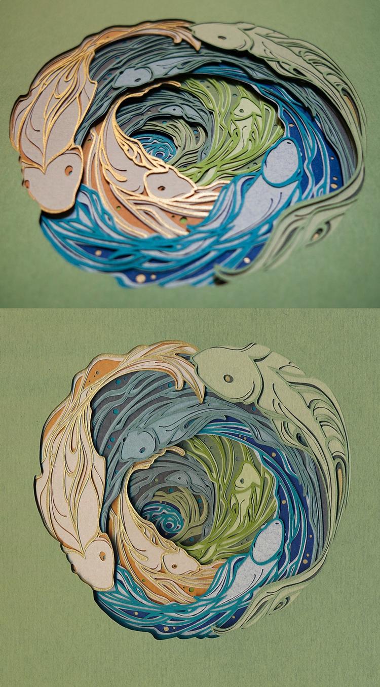 Whirlpool 28 layers hand cut pa - hazelglass | ello