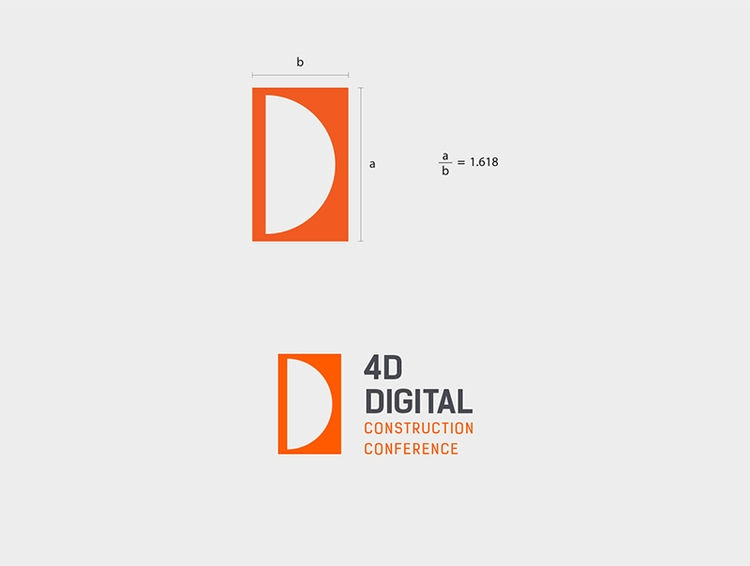 Unused logo design 4D digital c - nikolastosic_ | ello